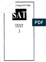 SAT Math Practice Test 03