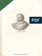 Retrato de Miguel de Cervantes Saavedra (Material Gráfico)