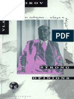 Nabokov, Vladimir - Strong Opinions (Vintage, 1990)