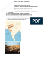 Indus River Valley Civilization, The Aryans, And the Mauryan Empire (1)