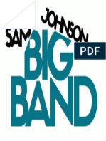 Sam Johnson big band logo