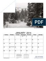 2014 Photo Calendar Seasons