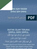 06). Islam Terurai Simpul Demi Simpul-Ust Ihsan Tandjung