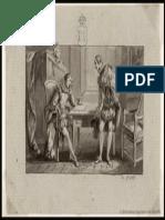 Cervantes Escribiendo El Prólogo Del Quijote (Material Gráfico)