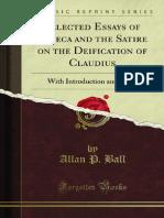 Selected Essays of Seneca