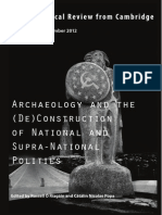 Building nations in the XXI century. Celticism, Nationalism and Archaeology in northern Spain