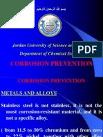 Corrosion Prevention