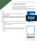 Novell.com-How to Change Windows 7 Logon Screen Background