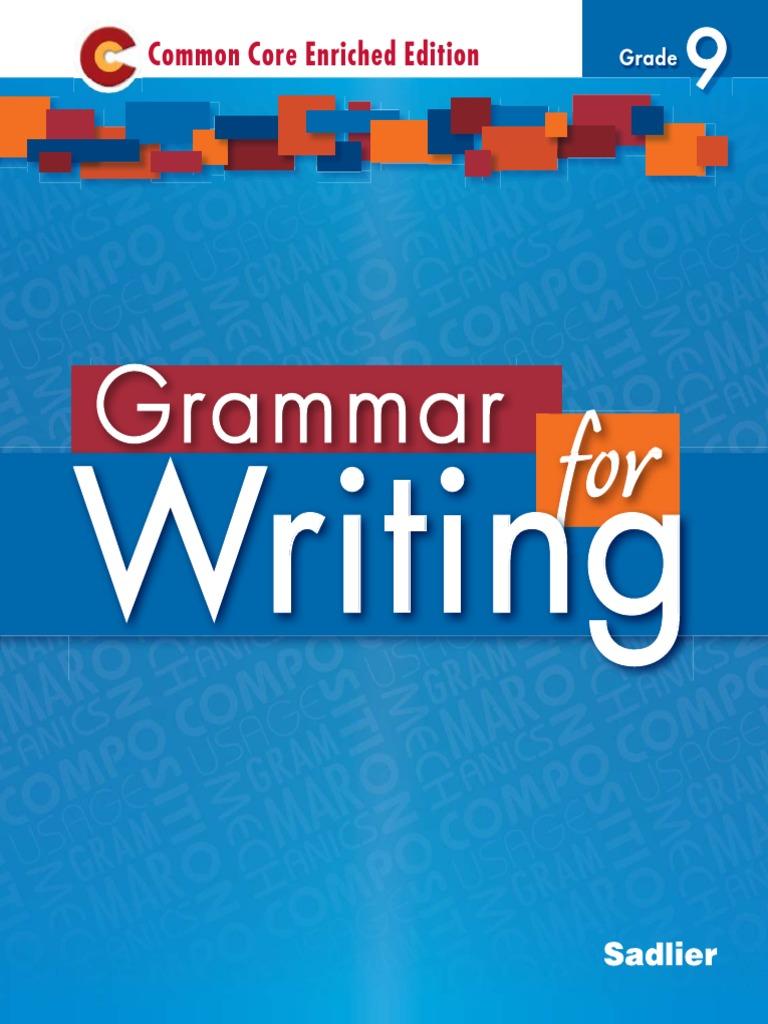 Grammar Textbook - Grade 9   Verb   Adjective