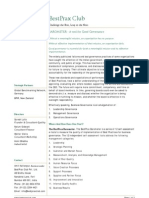 Barometer One Pager 290109
