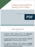 Multivoxel Pattern Analysis Presentation