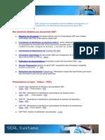 Les solutions SEAL Systems dédiées aux documents SAP