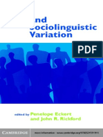 Research Methods in Linguistics | Linguistics | Statistics