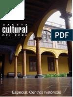 Caceta Cultural Del Perú - Centros Históricos