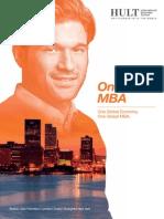 Hult MBA Brochure