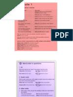 English Grammar for Pre-Intermediate Level