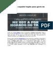 Diccionario Español TAPAS