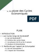 L'Analyse des Cycles Economiques