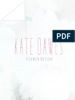 Information Booklet Kate Dawes Flower Design