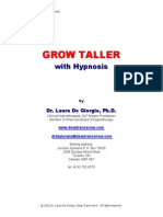 Grow Taller With Hypnosis