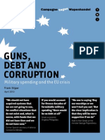Guns, Debt and Corruption Military spending and the EU crisis