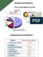 MINERALOGIA SISTEMÁTICA 2011
