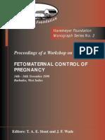 Monograph Series No. 2 - Fetomaternal Control of Pregnancy