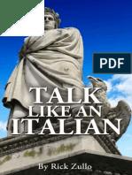 Talk Like an Italian - Zullo, Rick