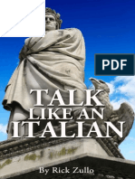 Talk Like an Italian - Zullo, Rick