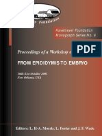 Monograph Series No. 6 - From Epidididymis to Embryo