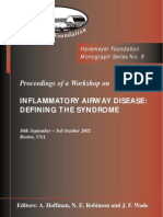 Monograph Series No. 9 - Inflammatory Airway Disease
