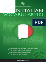 Learn Italian - Word Power 101 - Innovative Language
