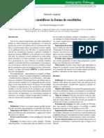 Escribir Un Informe Científico en Medicina 2006