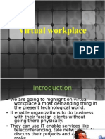 Virtual Workplace Ppt