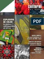 Caceta Cultural Del Perú - Exposición de Color