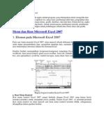 Komponen Pada Microsoft Excel 2007