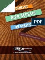 Guide Étudiant - La Cite collégiale - 2013-2014