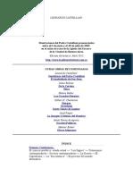 Leonardo Castellani - Siete Conferencias Sobre El Apokalypsis