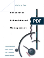 Organizing for Successful School-Based Management