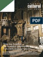 Caceta Cultural Del Perú - Tras Las Huellas de Nuestro Patrimonio
