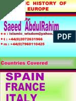 Islamic History of Europe