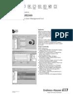FieldCare SFE500 - Technical Information