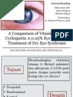 A Comparison of Vitamin a and Cyclosporin A