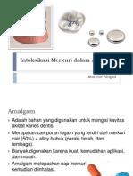Intoksikasi Merkuri Dalam Amalgam