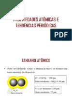 Propriedades Periódicas - Aula Quimica Ufop