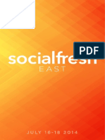 Social Fresh EAST 2014 Program