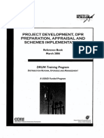 Project Development, DPR Preparation, Appraisal and Schemes Implementation Reference Book March-2