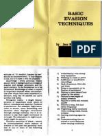 Basic SERE Evasion Techniques (1970s)