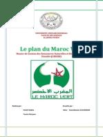 Le Plan Du Maroc Vert