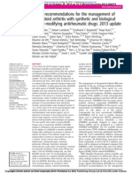 EULAR Artritis Reumatoide 2013